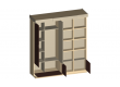 Шкаф-кровать Belagio