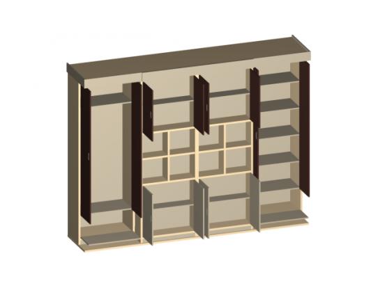 Шкаф-кровать Brauni