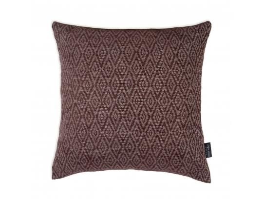 Декоративная подушка ZOOM RHOMBUS CHOCOLATE 45*45 см