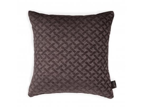 Декоративная подушка ZOOM CROSS CHOCOLATE (45*45)