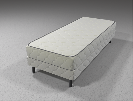 Кровать с матрасом F1 Усиленный
