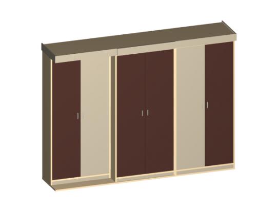 Шкаф-кровать GROSSO
