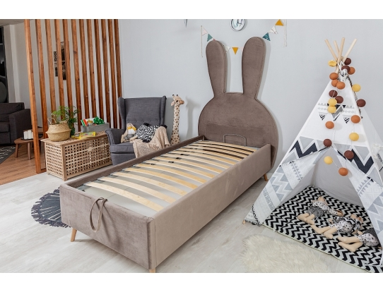 Детская кровать Кролик с подъемным механизмом