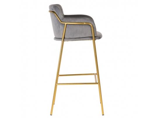 Кресло барное Strike Dark Grey