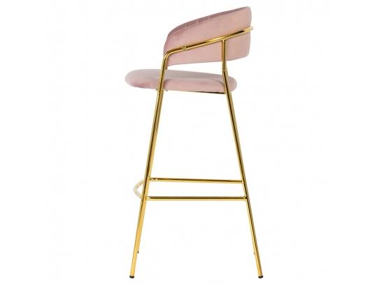 Кресло барное Portman Misty Rose