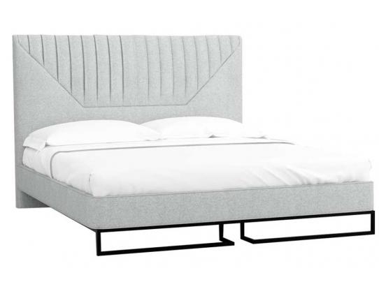 Кровать 1.8 Loft Alberta Стоун с подъемным механизмом и ящиком