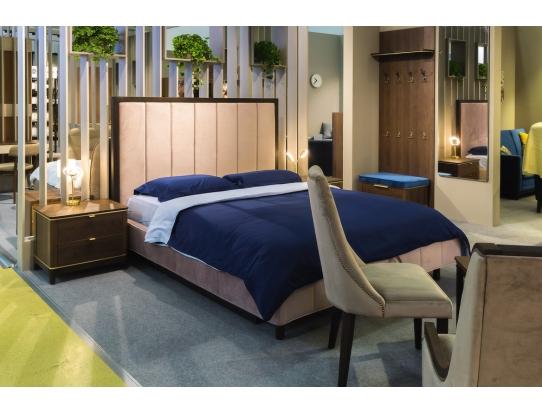 Кровать 1.6 Модерн Лайт Нежное мерцание с подъемным механизмом и ящиком