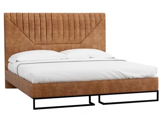 Кровать 1.8 Loft Alberta Браун с подъемным механизмом и ящиком