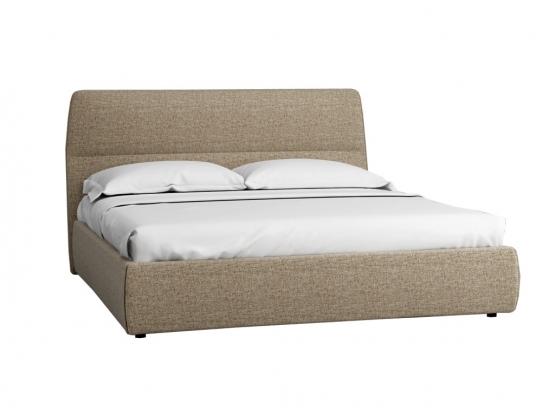 Кровать Сканди 1.8 с подъемным механизмом и ящиком Жемчужно-белый