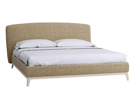 Кровать Сканди Лайт 1.4 с подьемным механизмом и ящиком Жемчужно- белый