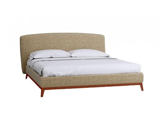 Кровать Сканди Лайт 1.4 с подьемным механизмом и ящиком Бежевый