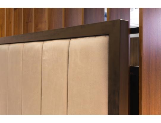Кровать 1.8 Модерн Лайт Серебряный дождь с подъемным механизмом и ящиком