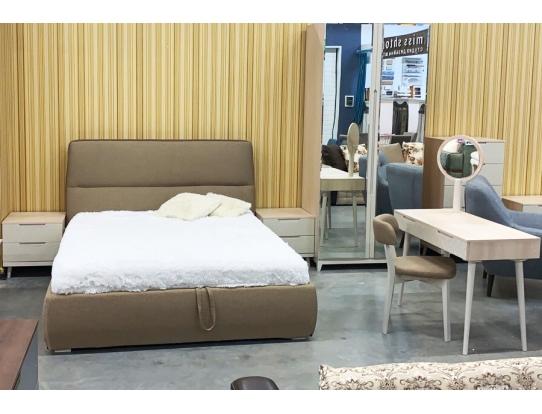 Кровать 1.6 Сканди Жемчужно-белый