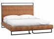 Кровать 1.8 Loft Грейс Браун с подъемным механизмом и ящиком