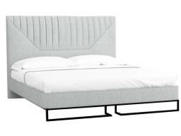 Кровать 1.4 Loft Alberta Стоун с подъемным механизмом и ящиком