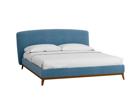 Кровать Сканди Лайт 1.6 с подьемным механизмом и ящиком Сапфир