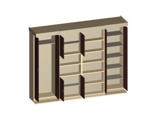 Шкаф-кровать LETI