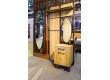 Панель для прихожей с зеркалом Loft Дуб Натур