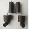 деревянные цилиндрические темный орех