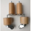 деревянные цилиндрические светлый бук