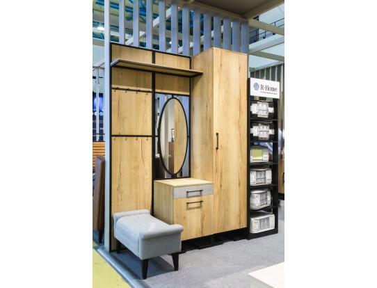 Шкаф одностворчатый Loft 45 см Дуб Натур