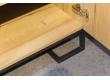 Шкаф двухстворчатый без зеркал Loft Дуб Натур