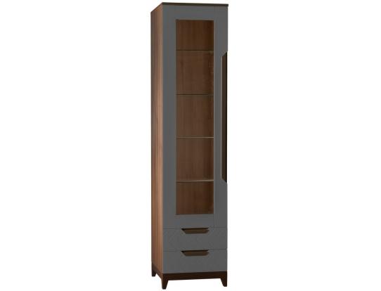 Шкаф витрина Сканди Грей