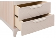 Шкаф с ящиками универсальный Сканди Жемчужно-белый
