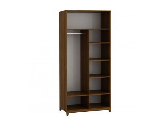 Шкаф двухстворчатый с зеркалами Сканди Сапфир