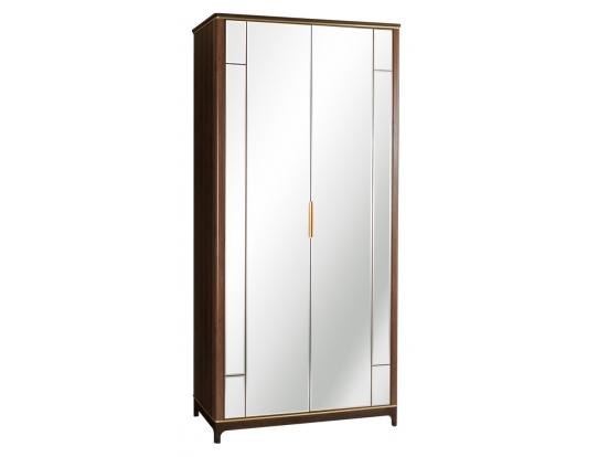 Шкаф двухстворчатый с зеркалами Модерн Дуб Гладстоун