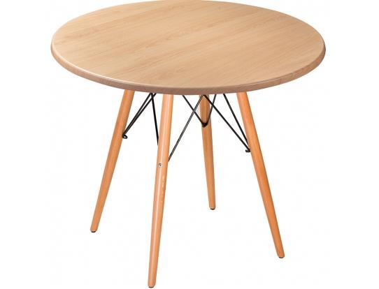 Стол Eames woodR beech light 80 см