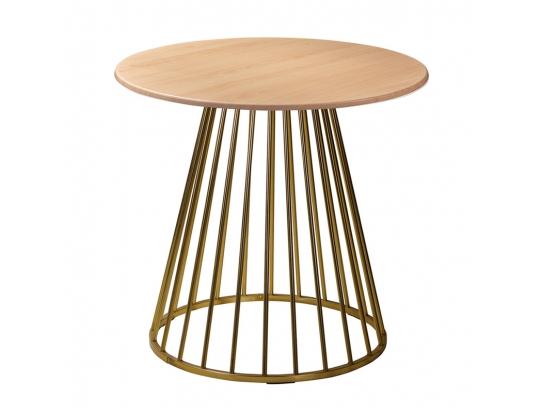 Стол Twister Matte Gold r80 бук