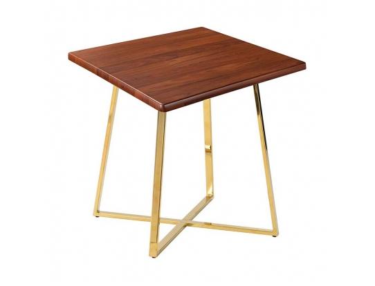 Стол Haku Gold 80x80 орех