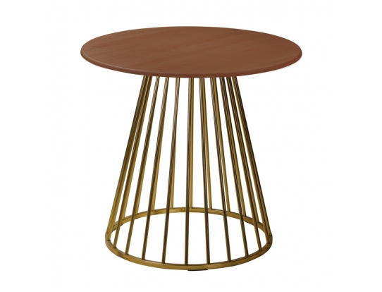 Стол Twister Matte Gold r80 nut