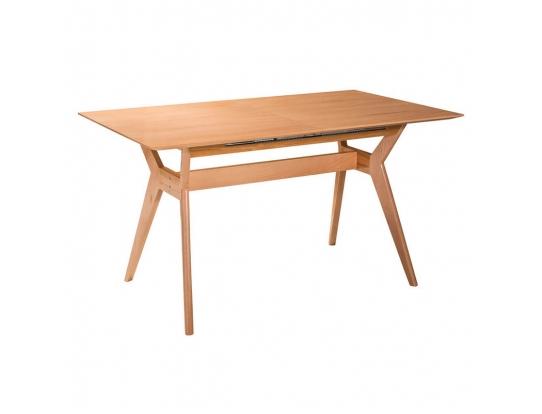 Стол раскладной Нарвик натуральный бук, 120 см