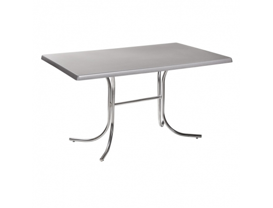 Стол Rozana 120*80 серебро