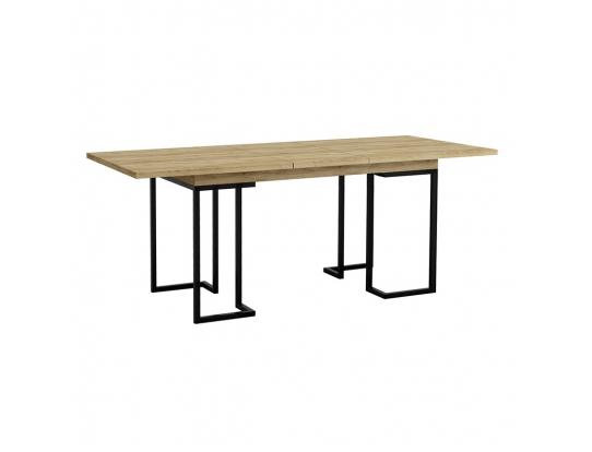 Стол раскладной обеденный Loft 120 Дуб натур