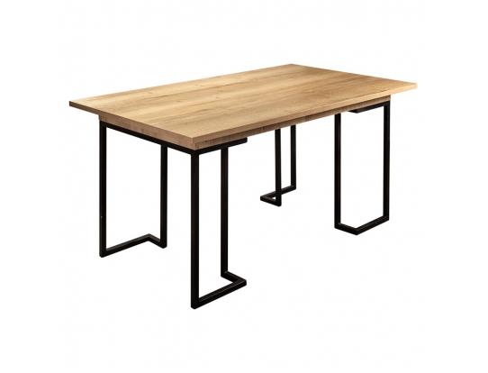 Стол раскладной обеденный Loft 160 Дуб натур