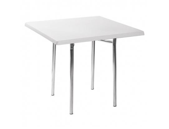 Стол Tiramisu UltraThin 80*80 Белый