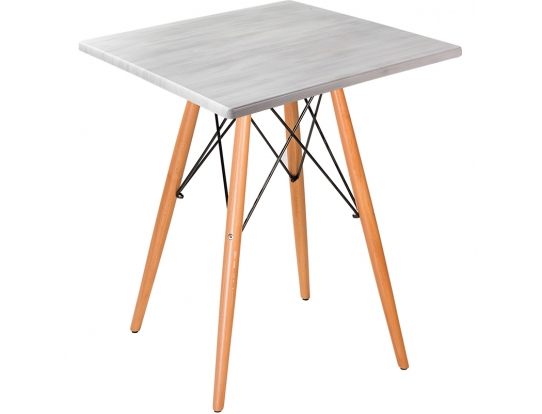 Стол Eames woodS white wood