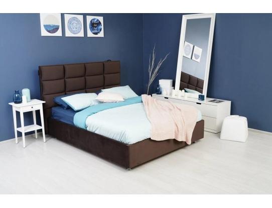 Изголовье для кровати мягкие прямоугольники