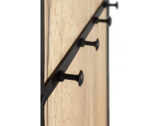 Панель для прихожей с вешалкой Loft Дуб Натур